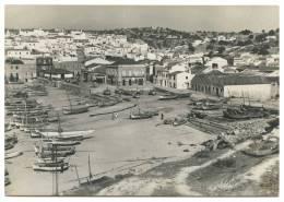 PORTUGAL - ALGARVE - ALBUFEIRA Praia Dos Barcos (Ed. Pap. A. J. Santos; Nº 6) Carte Postale - Faro