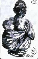 TARJETA DE AUSTRIA DE PINTURA DE ILSE KERN-MADERTHAMER (PAINTING) - Pintura