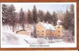 TARJETA DE AUSTRIA DE WINTER IN WEINVIERTEL 20 UNITS (PAINTING) - Pintura