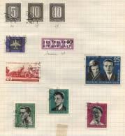 Deutsche Democratisches Republik -  10 Briefmarken - 10 Stamps - 10 Timbres - Oblitérés