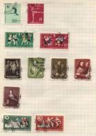 Deutsche Democratisches Republik -  11 Briefmarken - 11 Stamps - 11 Timbres - Oblitérés