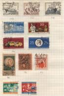 Deutsche Democratisches Republik -  12 Briefmarken - 12 Stamps - 12 Timbres - [6] République Démocratique