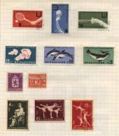 Bulgaria - 11 Stamps - 11 Timbres - 11 Postzegels - Non Classés