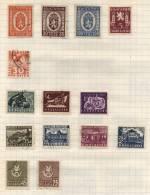 Bulgaria - 15 Stamps - 15 Timbres - 15 Postzegels - Non Classés