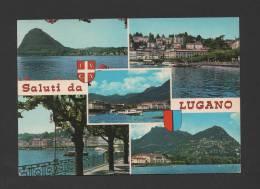 Postcard 1960years LUGANO MONTE SAN SALVATORE SWITZERLAND SUISSE HELVETIA - Suisse