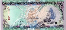 * MALDIVES - 5 RUFIYAA 2006 UNC - P 18 C - Maldive