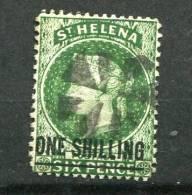 St. Helena 1882 Sc 32 Used Overprint Queen Victoria - Unclassified