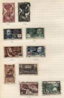 Afrique Equatoriale Française -  10 Stamps - 10 Timbres - 10 Postzegels - Guinée Equatoriale