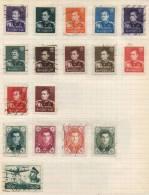 Pakistan - 17 Stamps - 17 Timbres - 17 Postzegels - Pakistan