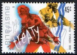 Australia 2001 Rock & Pop Music 45c Treaty - Yothu Yindi 1991 Used - Used Stamps
