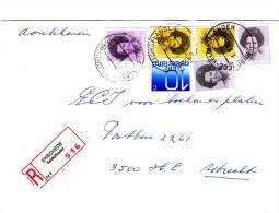 Aangetekende Envelop Met Strookje Nr. 516  ENSCHEDE  Veldhoflanden,  Es V - Periode 1980-... (Beatrix)