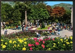 E1946 Montecatini Terme ( Pistoia ) Parco Dello Stabilimento Regina - Animata, Spa. Park / Viaggiata - Altre Città