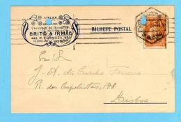 POSTAL COMERCIAL 1910s Pre Impresso Publicidade Loja: Gravuras/Carimbos PORTO. Vintage Business Postcard Portugal - Porto