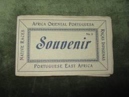 Africa Oriental Portuguesa-Moçambique-Raças Indigenas-10 Postales - Mozambique
