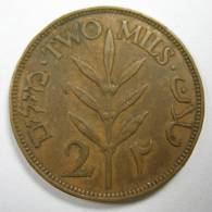 PALESTINE ISRAEL 2 MILS 1927.  MAYBE I GIVE DISCOUNT, ASK ME BEFORE BIDING - Israel