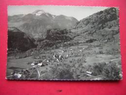 CPSM  74  ONNION PENSION BELLEVUE LE MOLE ROCHER DES ROSEAUX  VOYAGEE 1959 TIMBRE CARTE EN BON ETAT - Autres Communes