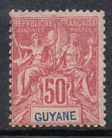 GUYANE N°40 N* - Guyane Française (1886-1949)