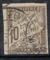 COLONIES GENERALES TAXE N°19 Cachet De Martinique - Postage Due