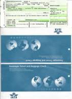 Ticket d�avion Deutsche Lufthansa -  Brussels-Berlin-Brussels - 17JUN02 with IATA ticket