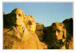 Rushmore         Mount Rushmore. Les Têtes De Quatre Présidents . - Etats-Unis