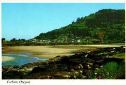 Yachats         Yachats A Busy Resort Town Along The Beautiful Orégon Coast    . - Etats-Unis