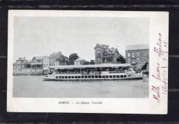 30775    Belgio,  Namur,  Le  Bateau  Touriste,  VGSB  1905 - Namur