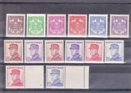 MONACO - 1938 - YVERT N°154/166 ** - COTE = 162 EUROS - SANS CHARNIERES - PETITE ADHERENCE SUR LE 165 - Monaco