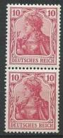 ALLEMAGNE - 10 P. En Paire Neuve De La Série De 1902-4 DEUTSCHES REICH TTB - Allemagne