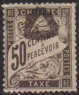 France Taxe N° 20 Obl. Cote : 240.00 € - Taxes