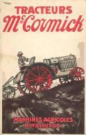 Réf : L-12-0501 : Machines Agricoles Wallut Tracteurs Mac Cormick Pubilicité - Tracteurs