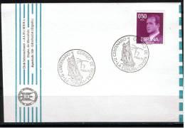 ESPAÑA 1977.LA CORUÑA. II CENTENARIO CORREO DE INDIAS .MATASELLOS   TEMA  BARCOS.CN 788 - Barcos