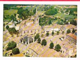 SAINT-CIERS-SUR-GIRONDE ( Gironde )  Vue Aérienne - Le Centre Ville - France