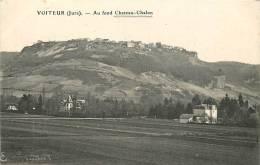 VOITEUR : Au Fond Chateau Chalon. 2 Scans. Edition Bourgeois Frères - Other Municipalities