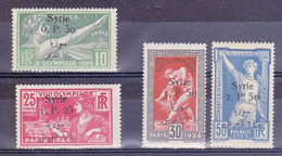 SYRIE - YVERT N°149/152 * - COTE = 168 EUROS - CHARNIERES PROPRES - JEUX OLYMPIQUES - Syria (1919-1945)