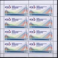 Russia 2012 Full Sheet 8 V  Summit Of The Asia-Pacific Economic Cooperation APEC Bridge Pont - APEC