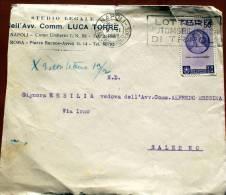 ITALIA 1936 - BIMILLENARIO ORAZIO 50 CENT. VIAGGIATA - 1900-44 Vittorio Emanuele III