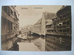 """(1/3/49) AK Nürnberg """"Fleischbrücke"""" - Nürnberg"""