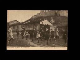 02 - COUCY-LE-CHATEAU - L'Education Physique De L'Enfance - Americain Commitee For Devasted...- Américains En France - France
