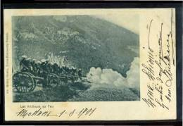 DB750-1901 ARTILIGERIE AL FUOCO-cartolina Francese - Manovre