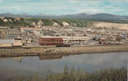 Panorama, Capitol Of The Yukon, Viewed Across The Storied Yukon River, Whitehorse, Yukon, Canada, 1940-1960s - Yukon