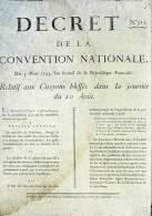 Cp , HISTOIRE , Révolution Française , Affiche Concernant Les Citoyens Blessés Lors De La Prise Du Palais Des Tuileries - History