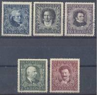 Austria Composers MH,USED * - 1945-60 Unused Stamps