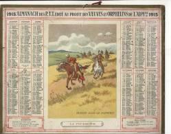 ALMANACH DES POSTES ET  DES TELEGRAPHES (1915 )  Chasse Dans Le Far West - Calendriers