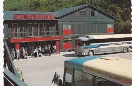 Busses At KLONDIKE Hotel , Skagway , Alaska , 1960s - Ohne Zuordnung
