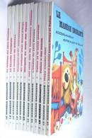 TRES RARE ENSEMBLE DES 12 PREMIERS LIVRES ILLUSTRES - LE MANEGE ENCHANTE - POLLUX - DANOT - 1965 - 1966 - ORTF