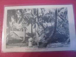 BORA BORA CASE INDIGENE A VAITAPE - Polinesia Francese