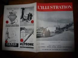 19 Décembre 1942 : Sotteville-sous-le-Val ; L´Opéra Des Artistes Et Des Danseuses; Forages De Pétrole Au Vallon Du Pilat - L'Illustration