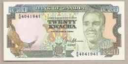 Zambia - Banconota Non Circolata Da 20 Kwacha - Zambia