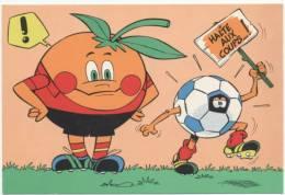 """ILLUSTRATEUR  ILL 308   FOOTBALL  """"  MUNDIAL  ESPANA  1982 """"    CPM / CPSM  10 X 15  NEUVE - Otros Ilustradores"""