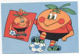 """ILLUSTRATEUR   ILL  307  FOOTBALL  """"  MUNDIAL  ESPANA  1982 """"    CPM / CPSM  10 X 15  NEUVE - Otros Ilustradores"""